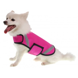 Pet Life Extreme Neoprene Multi-Purpose Protective Shell Dog Coat: Small, Pink
