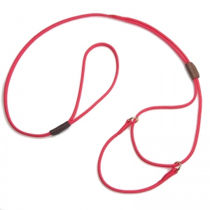 "Mendota Pet Martingale Show Lead: Red, Small 8"", 1/8"" X 40"""