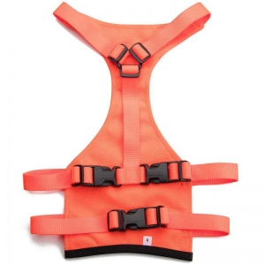 Mendota Skid Plate: Orange, XL