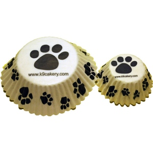 "K9 Cakery Mini Cupcake Liners: 1"", Pack of 100"