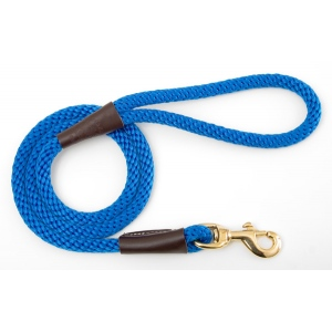 "Mendota Pet Snap Leash: Blue, 1/2"" x 4'"