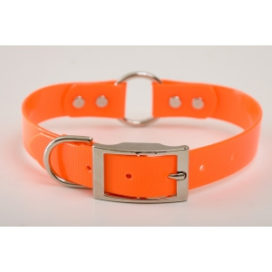 "Mendota Pet Safety Collar: Orange, 1"" x 16"""