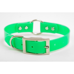 "Mendota Pet Safety Collar: Green, 1"" x 18"""