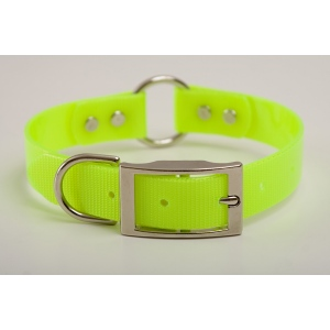 "Mendota Pet Safety Collar: Yellow, 1"" x 18"""