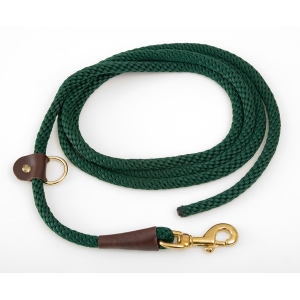 "Mendota EZ Trainer/Leash: Green, 1/2"" x 8'"