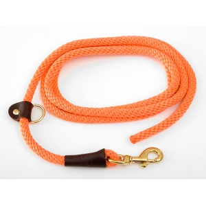 "Mendota EZ Trainer/Leash: Orange, 1/2"" x 8'"