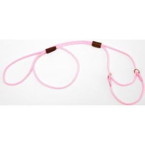 "Mendota Pet Martingale Show Lead: Hot Pink, Small 8"", 1/8"" x 40"""