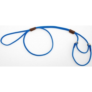 "Mendota Martingale Show Lead: Blue, Large 12"", 1/8"" x 40"""