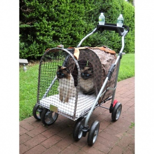 "Kittywalk Classic Pet Stroller SUV Royale 31"" x 16"" x 37.5"""