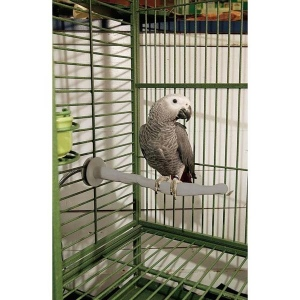 "K&H Pet Products Bird Thermo-Perch Gray 14.5"" x 2"" x 2"""