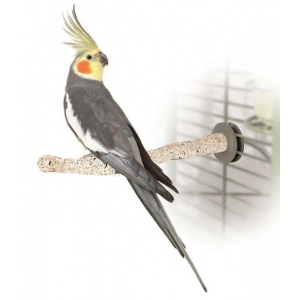 "K&H Pet Products Bird Sand Thermo-Perch Medium Sand 13"" x 1.25"" x 1.25"""