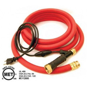 "K&H Pet Products Thermo-Hose Rubber  Large Red 720"" x 1.5"" x 1.5"""