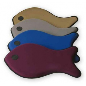 "K&H Pet Products Fish Neo Sleeper: Gray, 15"" x 26"" x 2"""