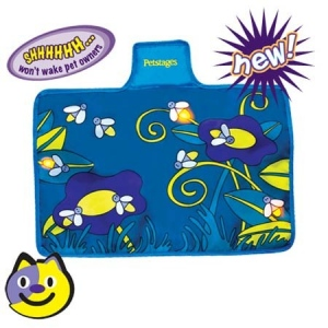 Petstages Flashing Firefly Mat Blue