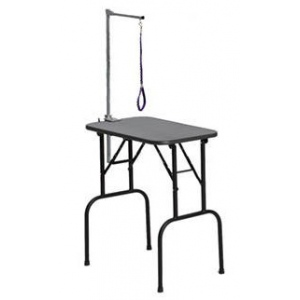 "Midwest Plywood Grooming Table with Arm Black 36"" x 24"" x 30"""