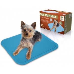 "Hugs Pet Products Pet Chilly Mat Medium Blue 19.5"" x 15.5"" x 0.75"""
