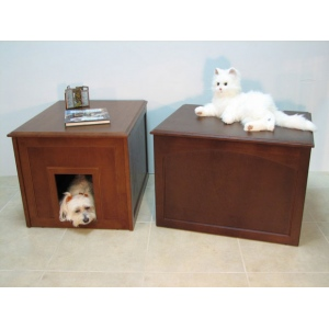 Crown Pet™ Doggie Den: Espresso