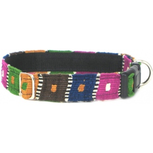 Color Pet™ Maya Checker Collar: Small