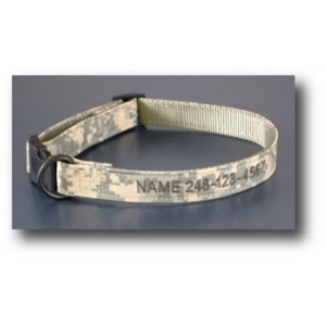 Color Pet™ Digital Camo Personalized Collar: Large