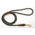 "Mendota Small Snap Leash: Camo, 3/8"" x 4'"