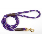 "Mendota Snap Leash: Purple Conf, 1/2"" x 4'"