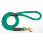 "Mendota Snap Leash: Kelly Green, 1/2"" x 4'"