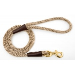 "Mendota Snap Leash: Tan, 1/2"" x 4'"