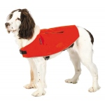 Mendota Canine Field Jacket: Orange with Reflective, Small