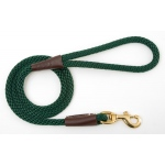 "Mendota Snap Leash: Green, 1/2"" x 4'"