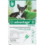 Advantage Flea Control for Dogs and Puppies: Under 10 Pound, 6 Month Supply