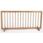 "Cardinal Gates Step Over Gate: Natural, 28"", 51.75"" x 20"""