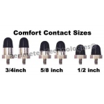 "Perimeter Technologies Comfort Contacts 1/2"" Black"