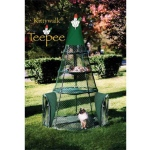 Kittywalk Teepee: 4 ft Diameter x 6 ft