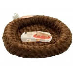"K&H Pet Products Thermo-Kitty Fashion Splash Bed Mocha 16"" x 16"" x 2"""