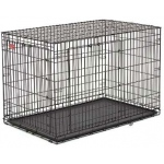"Midwest Life Stage A.C.E. Double Door Dog Crate Black 18.50"" x 12.50"" x 14.50"""