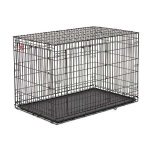 "Midwest Life Stage A.C.E. Double Door Dog Crate Black 23"" x 13.75"" x 16"""