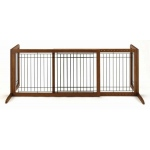 "Richell Freestanding Pet Gate: Autumn Matte, Large, 39.8"" - 71.3"" x 17.7"" x 20.1"""