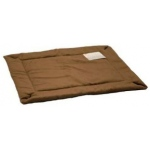 "K&H Pet Products Self-Warming Crate Pad Extra Extra Large Mocha 37"" x 54"" x 0.5"""