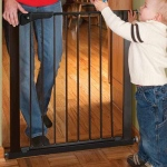 "Kidco Gateway Pressure Mounted Pet Gate Black 29"" - 37"" x 29.5"""