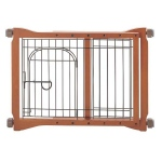"Richell The Pet Sitter Gate: Autumn Matte, 28.3"" - 41.3"" x 2"" x 20.9"""