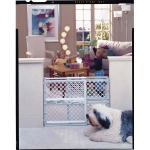 "North States Pet Gate III Pressure Mounted White 26"" - 42"" x 26"""