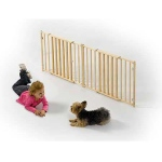 "MidWest Homes for Pets Extra Wide Wood Gate: 53"" - 96"" x 24"""