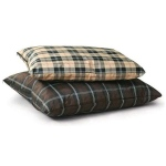 "K&H Pet Products Indoor / Outdoor Single-Seam Pet Bed Small Brown Plaid 28"" x 38"" x 3"""