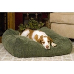 "K&H Pet Products Cuddle Cube Pet Bed Large Green 32"" x 32"" x 12"""