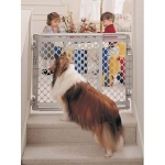 "North States Walk-Thru Pet Gate: 26"" - 41"" x 26"""