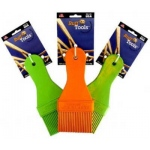 "Ruff Dawg Ruff Tools Paint Brush Assorted Colors 4.5"" x 1.5"" x 1"""
