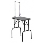 "Midwest Plywood Grooming Table with Arm Black 48"" x 24"" x 24"""