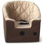 K&H Pet Products Bucket Booster Pet Seat: Tan, Small