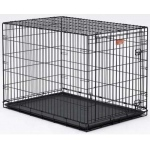 "Midwest Dog Single Door i-Crate Black 22"" x 13"" x 16"""
