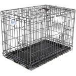 "Midwest Ultima Pro Double Door Dog Crate Black 25"" x 18.50"" x 21"""
